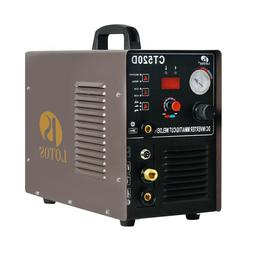 Plasma Cutter & DC TIG/ DC Stick Welder 3 in 1 Lotos CT520D