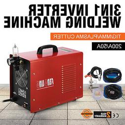 Plasma Cutter & DC TIG/Stick Welder 3 in 1 CT520D Multi Proc