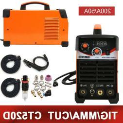 Plasma Cutter CT520D 50A /200A DC Inverter TIG ARC MMA 3 in