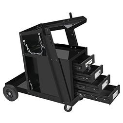 4 drawer welding cart cabinet