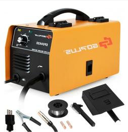 GOPLUS Portable No Gas MIG 130 Welder Flux Core Wire Automat