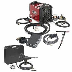 Lincoln Power MIG 210 MP Welder w/ TIG Kit & Spoolgun