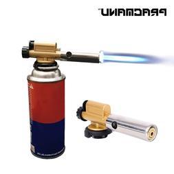 PRACMANU Electronic Ignition Copper Flame Butan <font><b>Gas