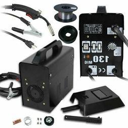 Profession MIG 130 Welder Gas Less Flux Core Wire Automatic