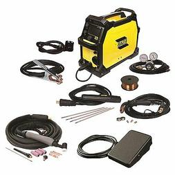 ESAB Rebel EMP 215ic MIG/Stick/TIG Welder with Foot Control