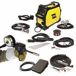 ESAB Rebel EMP 215ic Welder, Spoolgun, Foot Control and FREE