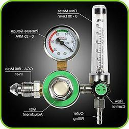 Argon Regulator With Flowmeter TIG Welder MIG Welding CO2 Re