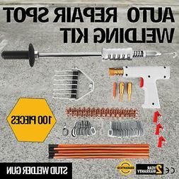 Repair Panels Spot Welding Kit Stud Welder Gun Auto Body Wel
