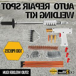 Repair Panels Spot Welding Kit Stud Welder Gun 400A Weld Sta