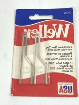 New  Pack Weller 7135W  Replacement Soldering Gun Tip 8200 a