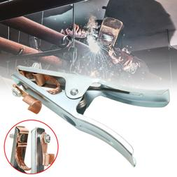 Welding Manual Welder Arc Earth Ground Cable Copper Grip Cli