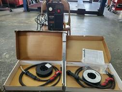 Snap-On Synergic MIG 160i welder for steel, stainless, and a
