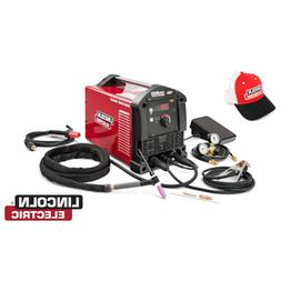 Lincoln Square Wave® TIG 200 TIG Welder, K5126-1 W/ FREE Li
