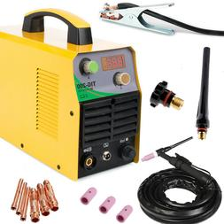 TIG 110/220V DC Inverter 200Amp Argon Gas WIG Welding Machin
