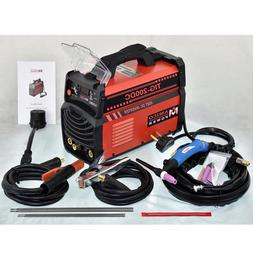 TIG-200DC, 200 Amp TIG Torch Stick ARC DC Welder, 110/230V D