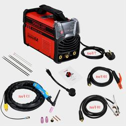 TIG-220DC, 220-Amp TIG-Torch ARC Stick Welder 110/230V Dual