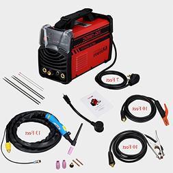 180 Amp TIG Torch Stick ARC DC Inverter Welder 110/230V Dual