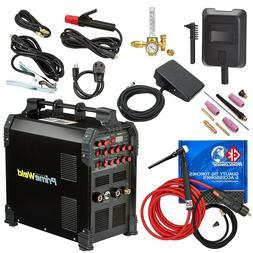 PRIMEWELD TIG225X 225 Amp IGBT AC DC Tig/Stick Welder with P