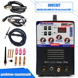 TSE200G Aluminum Welder AC/DC TIG/MMA 3 In 1 Welding Machine