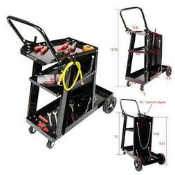 Universal Welder Welding Cart MIG TIG ARC Plasma Cutter Tank