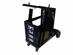 UNIVERSAL WELDING CART MIG FLUS 4 DRAWER SLIDINHG CABINET WE
