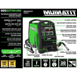 Titanium Unlimited 200 MIG FLUX-CORED DC-TIG DC-STICK  Welde
