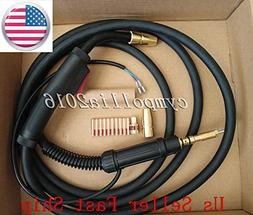 US SELLER MIG WELDING GUN &TORCH 15' 150 A replacement HOBAR