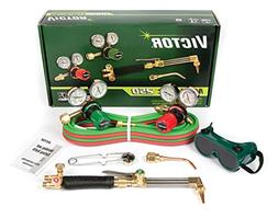 0384-2540 Victor Medalist 250 Torch Kit Set With Regulators CA411-3 WH411C G250