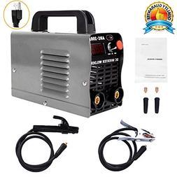 Welder, 200Amp Power, IGBT AC-DC 110V Beginner Welder Use We