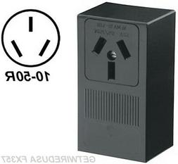WELDER ELECTRIC WALL OUTLET FEMALE 10-50R 3-PRONG PLUG IN BO