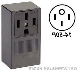 WELDER ELECTRIC WALL OUTLET FEMALE 14-50R 4-PRONG PLUG IN BO