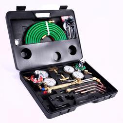 Welder Gas Welding Cutting Kit Acetylene Oxygen Torch Hose S