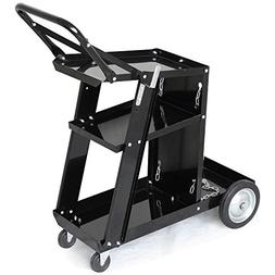 Yaheetech 3-Tier Welding Cart MIG TIG ARC Plasma Cutter Weld