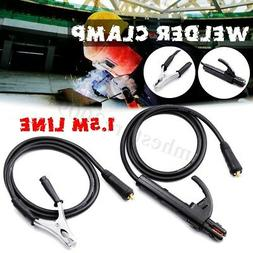 Welding Electrode Holder + Earth Clamp 1.5M For Welder MMA/A