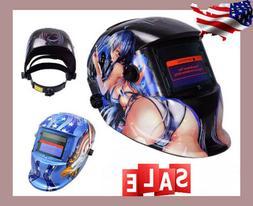 Welding Helmet grinding Welder Protective Gear Pro Solar Aut
