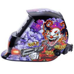 Welding Helmet Solar Powered Auto Darkening Mig Tig Arc Weld
