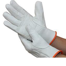 white welding gloves welder